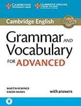 Grammar and Vocabulary for Advanced. Book with Answers and Audio. (Cambridge Grammar for Exams)