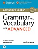Grammar and Vocabulary for Advanced. Book with Answers and Audio.: Self-Study Grammar Reference and...
