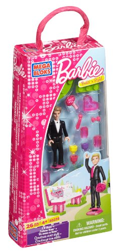 Mega Bloks 80239 Barbie gusta Ken