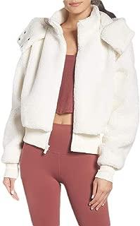 Women's Long Sleeve Lapel Winter Warm Faux Shearling Shaggy Coat Jacket