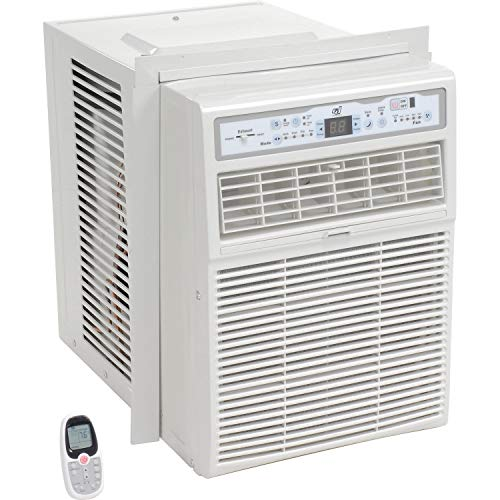 Global Industrial Casement Window Air Conditioner 10, 000 BTU 115V with Remote