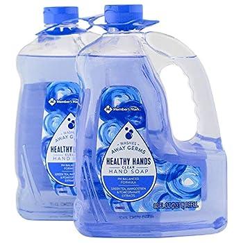 Member s Mark Hand Soap Refill Clear  80 fl oz 2 pk   pack of 2