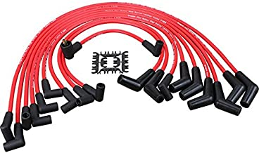 Dragon Fire Race Series High Performance Ignition Spark Plug Wire Set Compatible Replacement For 1964-1995 Ford 8mm 5.0L 5.8L SBF 302 302W Oem Fit PWJ115