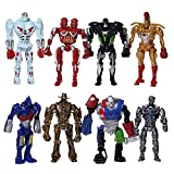 Action Figure Real Steel Toys Atom Movie Zeus Twin...