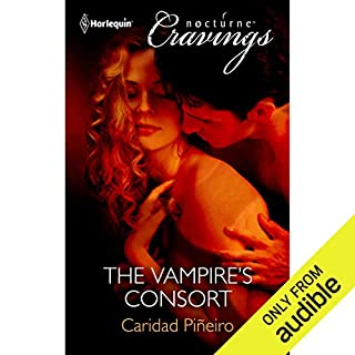 The Vampire's Consort audiobook cover art