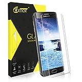 Verre Trempé pour Samsung Galaxy S6 Edge, [3D Incurvé] Film de Protection d'Écran en Verre Trempé Transparent, 3D Touch Compatible et Dureté de 9H sans Bulles