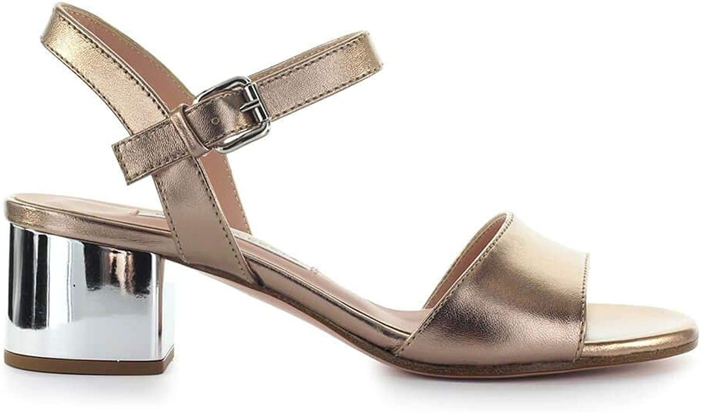 ROBERTO FESTA Women's DIVINAWEB8 Bronze Leather Sandals