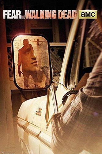 The Walking Dead Póster Fear Rearview Mirror/Espejo retrovisor...