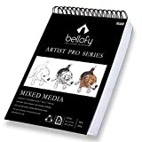 Bellofy 100-Sheet Sketchpad Artist Pro Watercolor Pad