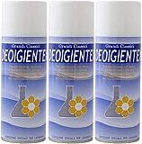 Rampi Deo Igientex - Spray Deodorante Igienizzante Professionale Tessuti Ambiente Auto Cassetti Scarpe Armadio Profumo Hotel Palestra Accessori Lavanderia - 3 Pezzi da 400 ml