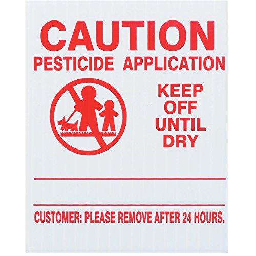 25x GEMPLER'S VT4X5PK Vermont State Pesticide Application Signs –...