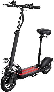 LHLCG Scooter eléctrico - E-Scooter Plegable con Asiento 10 ...