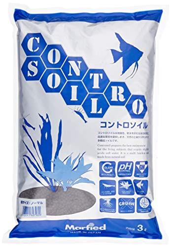 マーフィード水質調整底床コントロソイルノーマル3L