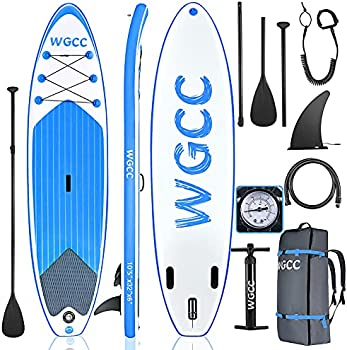 WGCC 10-Foot Inflatable Stand Up Paddle Board