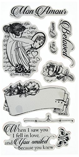 Graphic 45 Mon Amour 1 Cling Stamps
