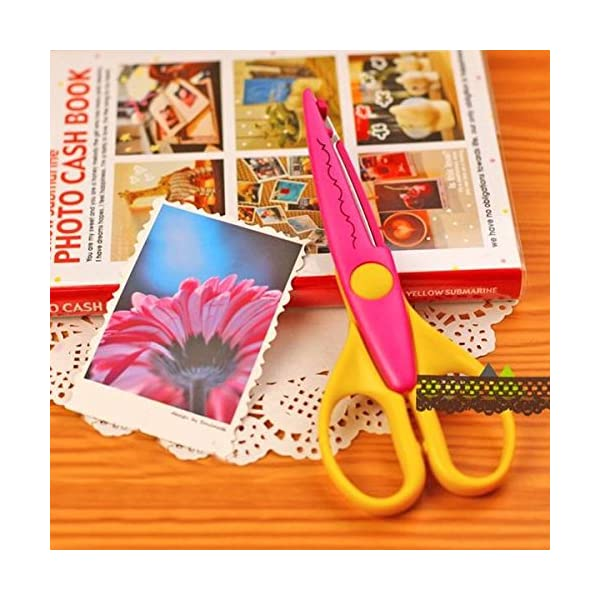 (6 colors) – Pinking Shears 240mm Professional Dressmaking Scissors Pinking Shears Craft Scissors Zig Zag Scissors