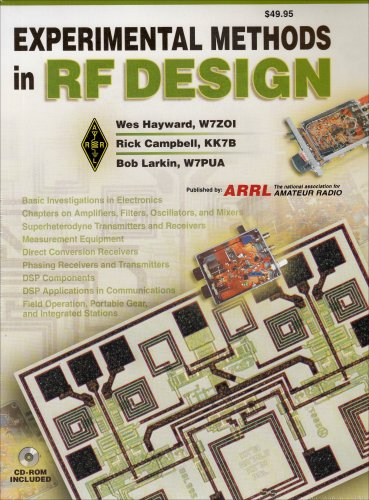 Compare Textbook Prices for Experimental Methods in Rf Design Radio Amateur's Library  ISBN 9780872598799 by Wes Hayward,Rick Campbell,Bob Larkin