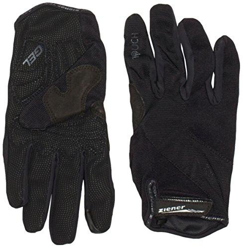 Ziener Herren Bikehandschuhe CLIPPO TOUCH long Bike Gloves Handschuhe, black, 9,5