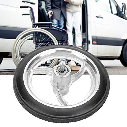 ROMACK Neumático Delantero para discapacitados, Rueda Delantera de Silla Antideslizante para Interiores para discapacitados