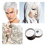 MQFORU Cire temporaire de couleur pour cheveux, 8 couleurs professionnelles, à faire soi-même, à faire soi-même, à faire soi-même, à la boue, à la peinture lavable, pour les fêtes, les cosplay