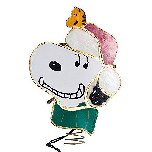 Kurt Adler Snoopy Lighted Treetop, 9-Inch