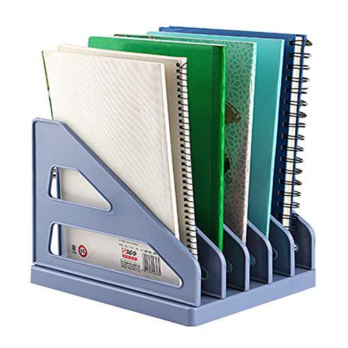 Kunststoff-dokumentenaufbewahrungs-rack,kleine Datei Halter Brief Organizer Dokument Lagerung Rack Büro Liefert Buch Organizer A 24 * 19.8 * 19cm