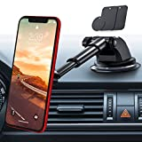 cover blu dash music 2 - andobil Magnetic Phone Car Mount, 360° Rotation Universal Dashboard Windshield Cellphone Holder Hands-Free Suction Phone Stand Compatible iPhone SE 11 Pro Max/XR/6/7/8 Plus, Samsung Note S9/S10e/a20