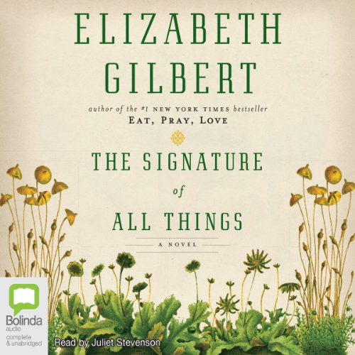 The Signature of All Things audiobook cover art