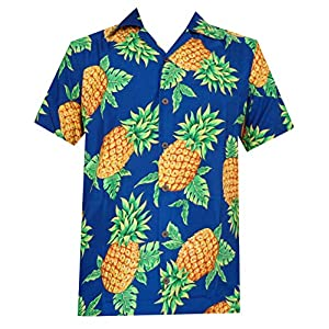 Hawaiian Shirts Men's Aloha  Casual Short Sleeve Shirt