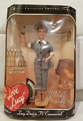 1997 Barbie - I Love Lucy - Starring Lucille Ball as Lucy Ricardo - Episode 30 - Collector Edition - #17645