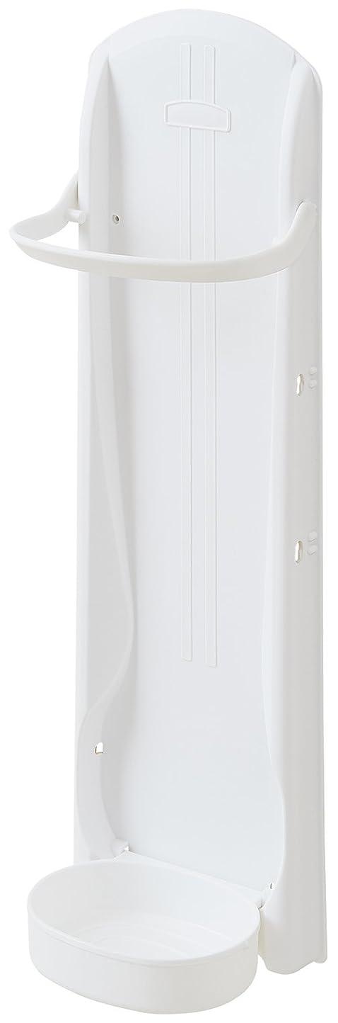 劇場振動する膨らみlike-it 傘立て マグネット かさラック ホワイト 幅17.5x奥12.2x高54cm 220949