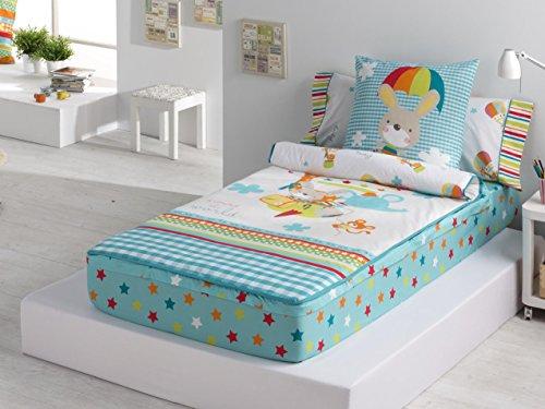 Schlafsack Nordico mit Füllung Globus Cama 90 cm