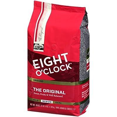 Eight O'Clock Ground Coffee, The Original, 36 Ounce
