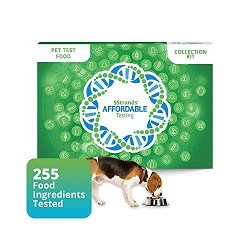 5Strands Pet Food Intolerance Test, 255 Item Sensitivity...