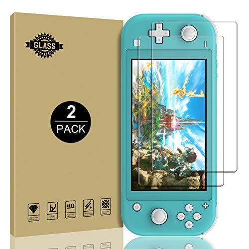 Protector de Pantalla de Cristal Templado para Nintendo Switch Lite 2019, antiarañazos, sin Burbujas, Accesorios para Switch Lite, 2 Unidades
