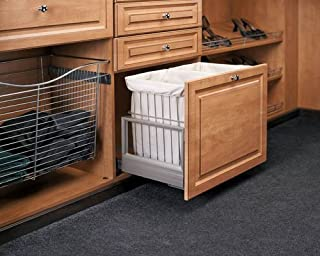 Hamper Bottom Mount Rev-A-Motion™ with Wire Bins CH-241419-RM-217