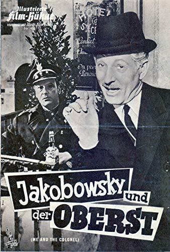 Jakobowsky und der Oberst - Curd Jürgens - IFB Filmprogramm 4551 ungelocht
