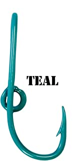 BT Outdoors Eagle Claw Teal Hat Hook Fish Hook for Hat Teal Fish Hook Money/Tie Clasp