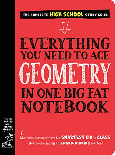 Everything You Need to Ace Geometry in One Big Fat Notebook (Big Fat Notebooks) (English Edition)