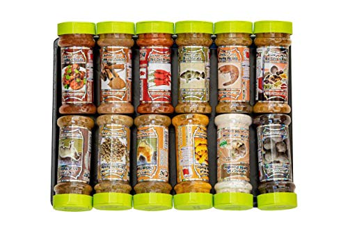 Premium Arabian Spice Set 12 Blends & Rubs & Mix - Authentic Middle Eastern Baharat Masala Collection 1200G