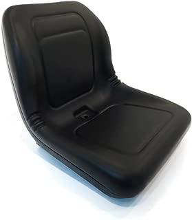A&I Black High Back Seat for John Deere Skid Steer Loader 70 125 240 7775 8875