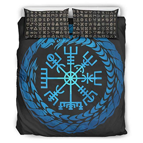 Twelve constellations Tagesdecke Quilt Bettwäsche Set Mikrofaser Leichte - 3-Teiliges Bettbezug-Bettbezug für Jungen Schlafzimmer White 168x229cm
