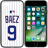 iPhone New Case Cubs C. Home Jersey Baseball Fashion Grip Anti-Slip Protective Shock Resistant Durable PC TPU by Mr Case (Baez, iPhone 7)