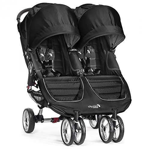 Baby Jogger City Mini Stroller - Double, Black