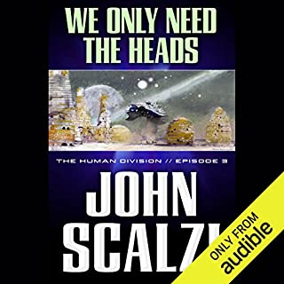 We Only Need the Heads audiobook cover art