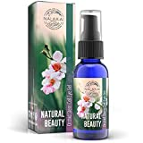 Under Eye Gel for Puffiness, Wrinkles, Dark Circles - Orchid Stem Cells with Collagen and Hyaluronic Acid - Restores Firmness and Elasticity to Delicate Skin - Non Greasy - Nalakai Naturals