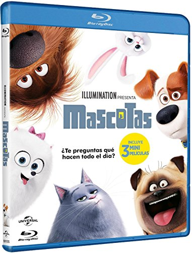 Mascotas (BD) [Blu-ray]...