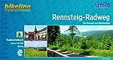 Rennsteig-Radweg 1 : 50 000: Von Eisenach nach Blankenstein 208 km: Von Eisenach nach Blankenstein 1:50.000, 208 km (Bikeline Radtourenbücher)