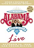 Alabama: For the Record - 41 Number One Hits Live, October 10, 1998 Las Vegas Hilton