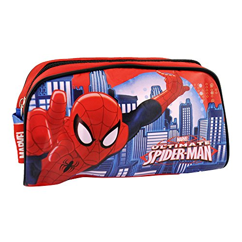 SPIDERMAN Marvel Gift Set toilettas, rood en blauw